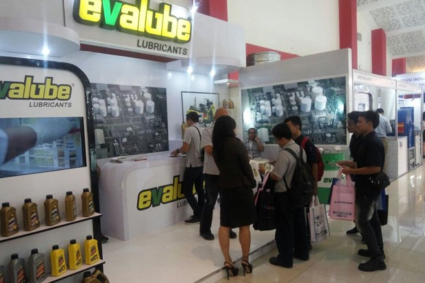 Evalube Hadir Di Pameran Manufacturing Surabaya 2017