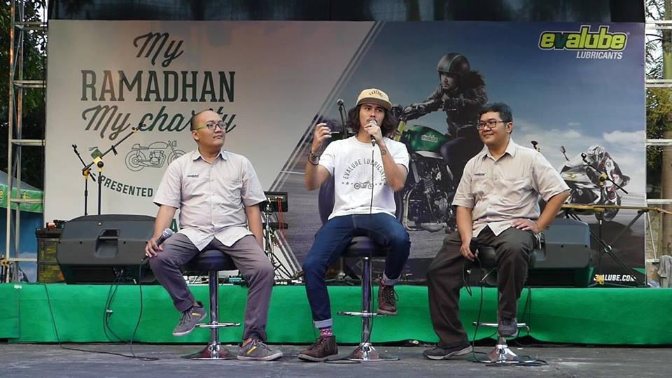 """Evalube Kembali Selenggarakan """"My Ramadhan, My Charity"""" di Yogyakarta Mengajak Komunitas Motor/ Bikers Berbagi Kebaikan"""